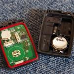 三菱アイ(HA1W)のキーレスリモコン電池交換