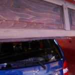 リフトマスターシャッターのゴムパッキンの修理