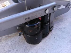 Jack oil plug