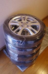 タイヤ保護 ラップ