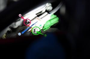 スイフトO2センサーコネクター