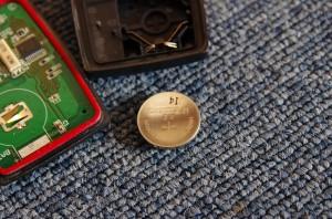 三菱アイHA1W リモコンキー電池
