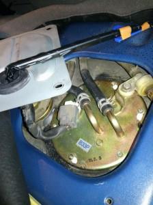 DWデミオ 燃料ポンプ交換