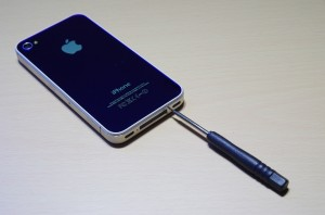 iPhone4S トルクスネジ