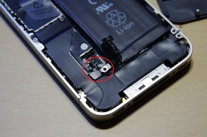 iPhone4バッテリー交換