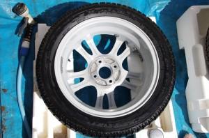 タイヤ洗浄 すすぎ