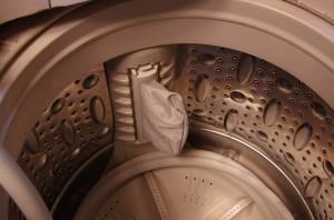 旧サンヨー洗濯機 ごみ取りネット