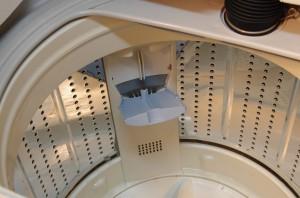 新サンヨー洗濯機 洗剤投入口