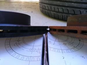 タント ブレーキローター 新旧比較
