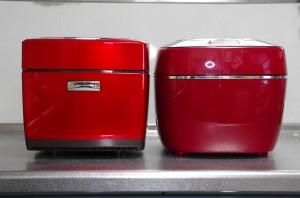 三菱、タイガー炊飯器本体比較前